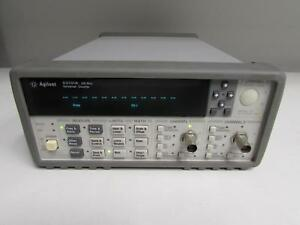 Agilent 53131a Universal Frequency Counter 10 Digit sec Opt 010