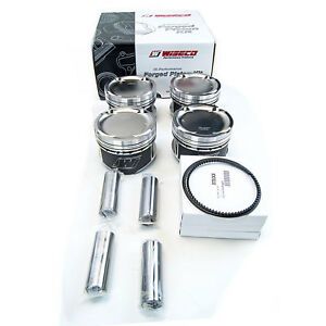 Wiseco Sport Compact Pistons Rings 87 5mm 8 8 1 For 2003 05 Dodge Neon Srt 4