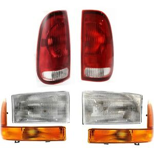 Auto Light Kit For 1999 2001 Ford F 250 Super Duty Driver And Passenger Side
