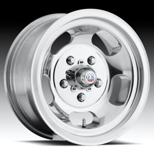 15x10 Us Mag Indy U101 5x4 5 Et 50 Polished Wheel 1