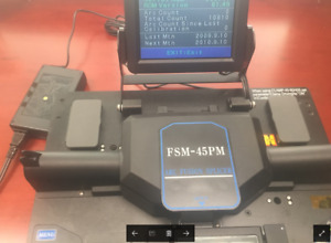 Fujikura Fsm 45pm Optical Fiber Fusion Splicer For Mm Sm And Pm Fiber