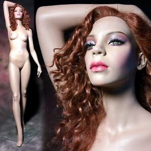 Rare Rootstein Mannequin African American Female Full Realistic Ethnic Vtg