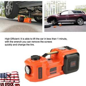 12v 5t Automatic Car Electric Hydraulic Jack Impact Wrench Air Compressor Hot Us