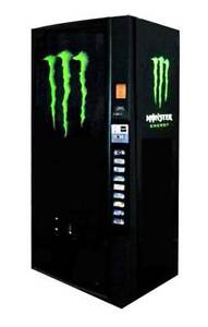 Dixie Narco 501e 16 12oz Can Monster Energy Vending Machine Refurbished