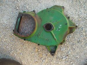 1946 John Deere A Tractor Jd Transmission Side Panel Back Clutch Pulley A2468r