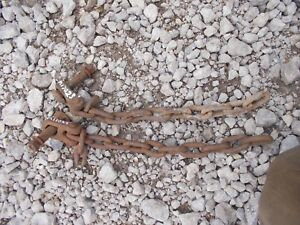 John Deere 420 Tractor Jd 3pt Hitch Bottom Sway Stabilizer Chain Chains M17023t