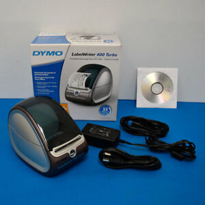 Dymo 93176 Labelwriter 400 Turbo Thermal Label Printer W ps Usb Cable