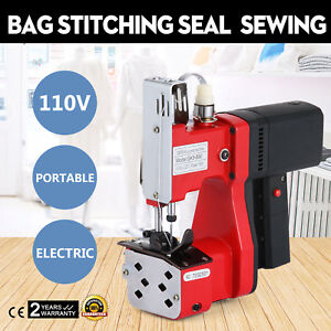 Electric Bag Sewing Machine Sealing Machines 100w Bag Stitching Tool Hot Updated