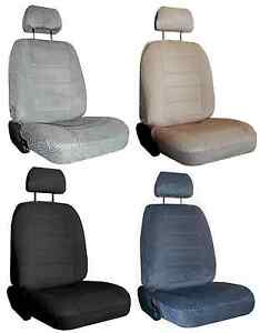 For 1998 2002 Chevrolet Prizm 2 Durable Scottsdale Velour Fabric Seat Covers