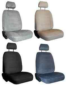 For2009 2015 Toyota Tacoma P up 2 Durable Scottsdale Velour Fabric Seat Covers