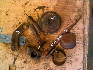 Farmall C Tractor Ih Ihc 8 Cover Cap Caps Parts Springs Bracket Pieces