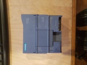Siemens Simatic Cpu S7 1212c Dc dc rly Tested