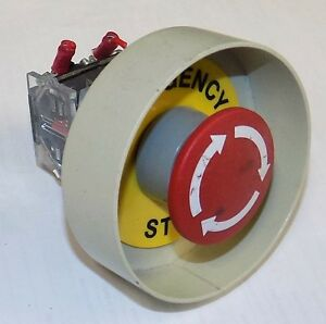Eao 704 910 4 Emergency Push Pull Button E stop Switch