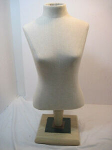 B Old Adjustable Height Mannequin Dress Form Retail Display Solid Nice