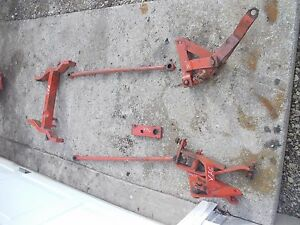 Case Vac Tractor Cultivator Implement Mounting Mount Bracket Brackets To Tractor