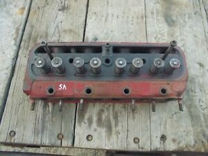 Farmall Super A Sa Tractor Ih Engine Motor Cylinder Head Valves 251172r2