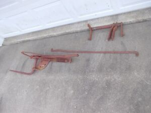 Farmall Ih Cub Tractor Original Ihc Hand Lift Assembly For Cultivators Implement