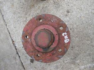 Farmall Cub Tractor Ih Front Wheel Hub Cap To Hold Rim To Spindle