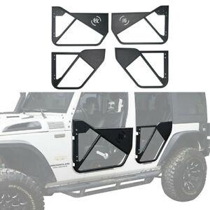 Chinese Characters Tube Doors Fit 2007 2018 Jeep Wrangler Unlimited Jk 4 Door