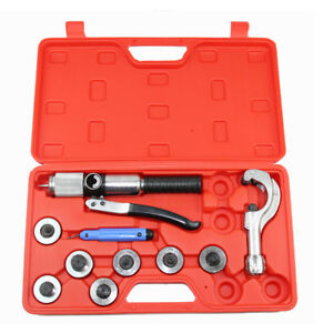 Hydraulic Tube Expander 7 Lever Tubing Expander Tool 1 4 to 2 Aluminum Alloy Us