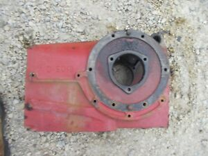 1939 Farmall A Tractor Good Ih Rearend Transmission Case For Gears 8105d 8105 D