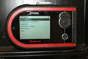Snap On Ethos Diagnostic Scan Tool Scanner Eesc312 With 12 Personality Keys