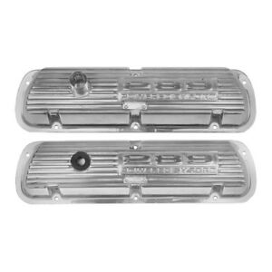 Scott Drake Valve Covers 289 Powered By Ford Polished