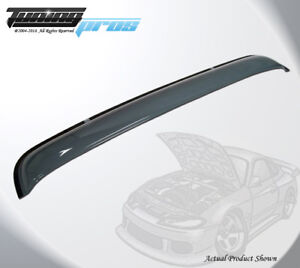 Light Tinted Sun Roof Deflector 980mm 38 5 For 1995 04 Toyota Tacoma Double Cab