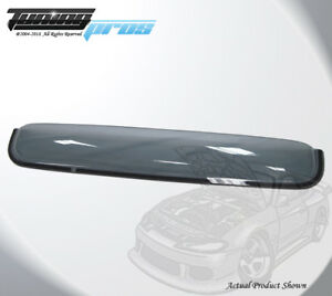 Light Tinted Sun Roof Deflector 1080mm 42 5 For 04 06 Toyota Tundra Double Cab
