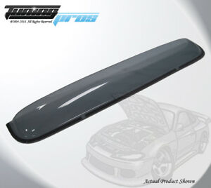 Light Tinted Sun Roof Deflector 1080mm 42 5 For 07 16 Toyota Tundra Double Cab