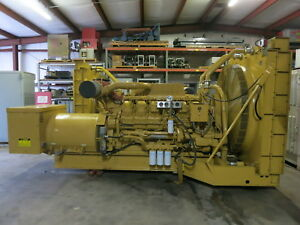 Caterpillar 1750kva 1400kw Cat 3512 Diesel Sr4 Generator Set 833hr 1989yr Genset
