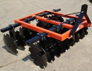Brand New 3 Point Tractor 66 D Series Disc Harrow 16 16 Inch Discs Or 16 18 5