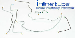 1971 Chevrolet Gmc C10 C15 Truck Power Disc Front Brake Line Kit Set 7pc Oe