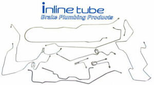 1995 99 Chevrolet Gmc K3500 Complete Brake Line Set Kit Crew Cab Long Bed Oem