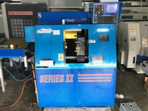 Used Omniturn Gt 75 Cnc Gang Tool Lathe 2013 Barfeed 5c Collet 4000 Rpm