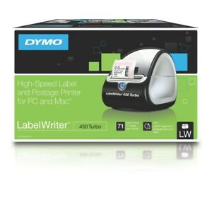 Dymo Labelwriter 450 Thermal Printer Dpi Usb Compact 1752264 Pc 51lpm Lw450_us