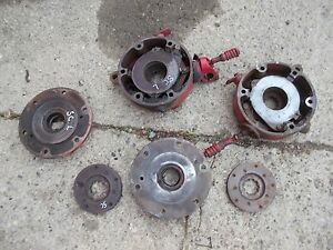 Farmall Sc Super C Tractor Pair Of Ih Disc Disk Brakes Covers Inner Housing