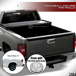 For 1994 2003 Chevy S10 Pickup Gmc Sonoma 6 Bed Tri Fold Soft Tonneau Cover Jr