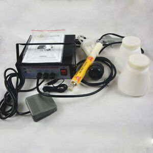 Black Portable Powder Coating System Metal Part Spray Paint Gun Marine Garden Us