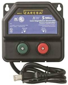 Zareba Ea5m z Ac Powered Low Impedance Charger 5 Mile