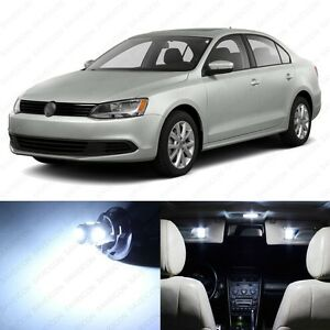 13 X White Led Interior Light Package For 2011 2017 Volkswagen Vw Jetta Tool