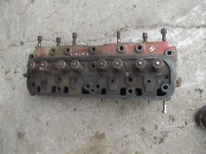 Farmall H Hv Early Sh Tractor Ih Engine Motor Cylinder Head W Valves 8043 Dc