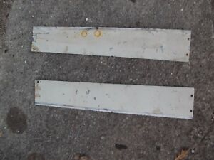 Farmall 460 560 Rc Tractor 2 Ihc Ih White Hood Side Cover Panel Panels Homemade