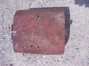 Farmall M Super M Rowcrop Tractor Ih Pto Take Off Shield