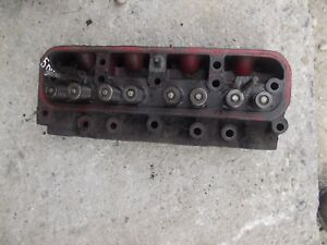 Farmall Ih 504 Tractor Main Gas Engine Motor Cylinder Head Valves