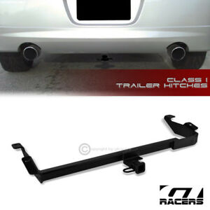 Class 1 Matte Blk Trailer Hitch Receiver Bumper Towing 1 25 For 2000 2005 Neon