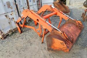 Kubota La481 Front End Loader Attachment W 60 Bucket For Many Model Tractors