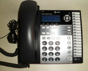 At t 1070 4 line Expandable Small Business Corded Phone System Sync W 1040 1080