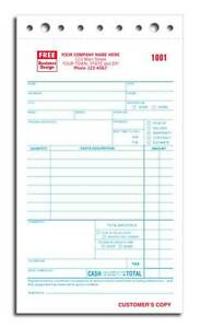 1000 Service Order Invoice Forms 2 Part Nebs Deluxe No 308 2
