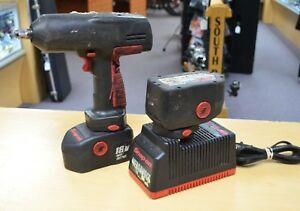 Snap On Ct3850 18v 1 2 Impact Wrench Kit W Charger 2 Batteries Free Shipping